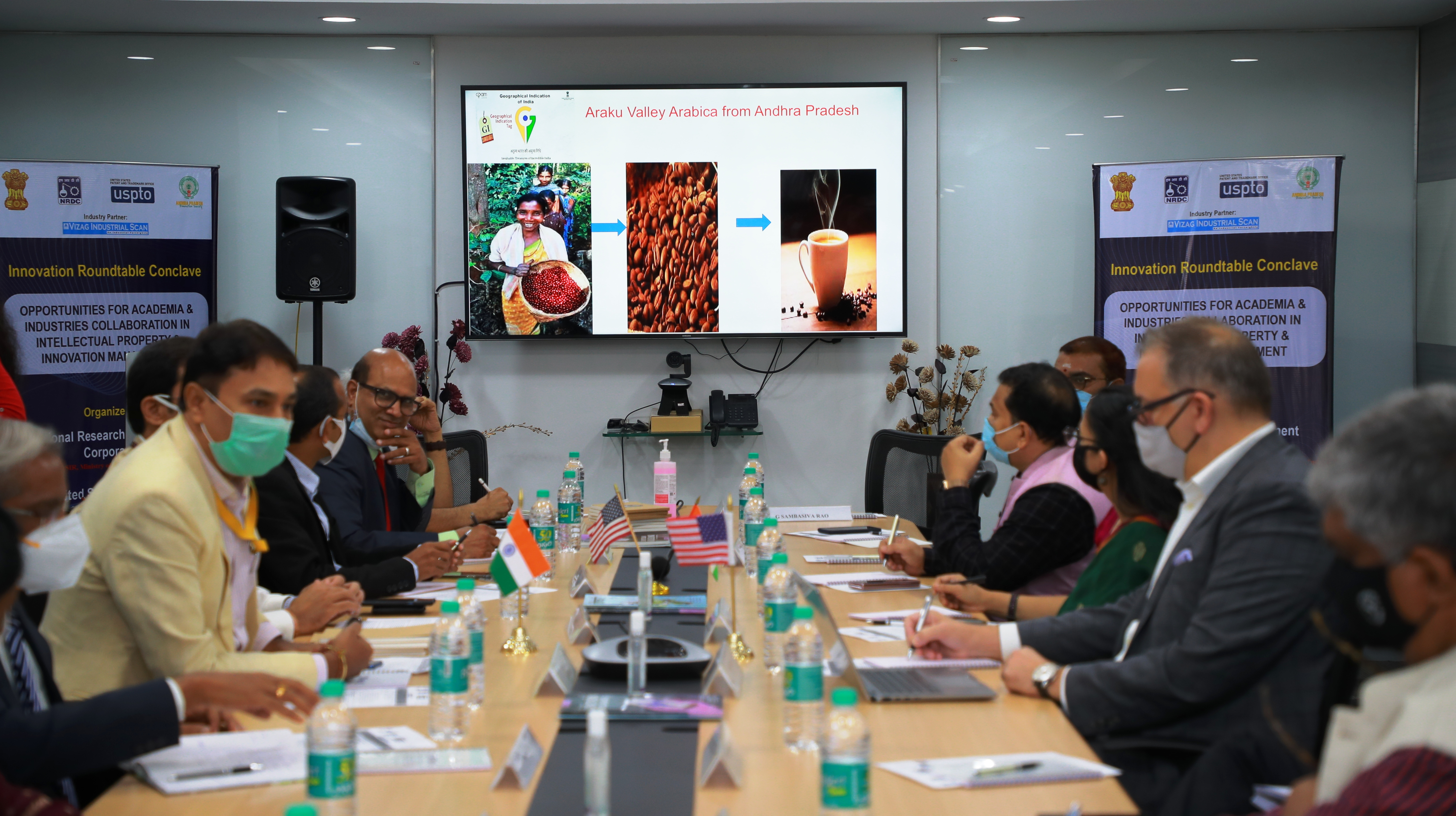 """INNOVATION ROUNDTABLE CONCLAVE: """"Opportunities for Academia & Industries Collaboration in Intellectual Property & Innovation Management"""""""